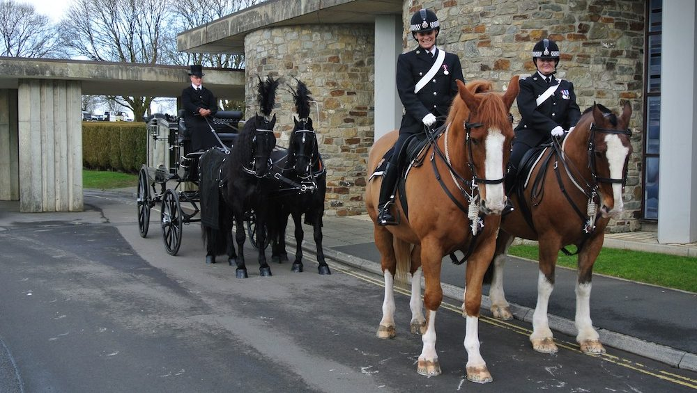 Kilvey-Carriage-Horse-Drawn-Carriage-Services-Wales-Cardiff-Bristol-Police-Funeral-e1518787996636